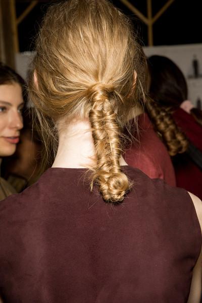 Best Hairstyles From Milan Fashion Week Autumn Winter 2017 Sascha