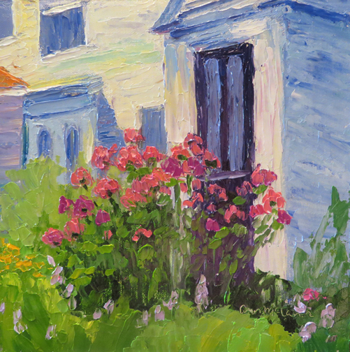 Phlox at the Door by Ann McCann (c) 2015