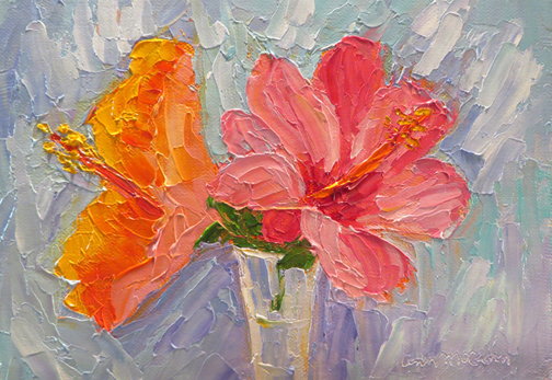 Hibiscus Duo by Ann McCann (c) 2015