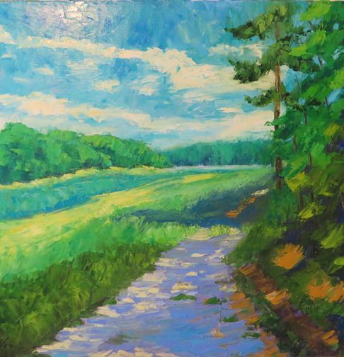 Marsh Road II by Ann McCann (c) 2015
