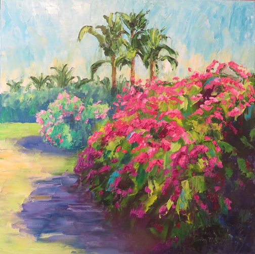 Tropical Flowers by Ann McCann (c) 2015