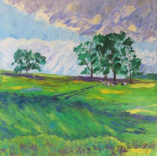 Storm Coming to Horsebarn Hill (c) Ann McCann 2015