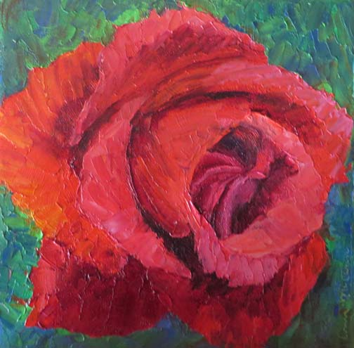 Red Red Rose (c)Ann McCann 2016