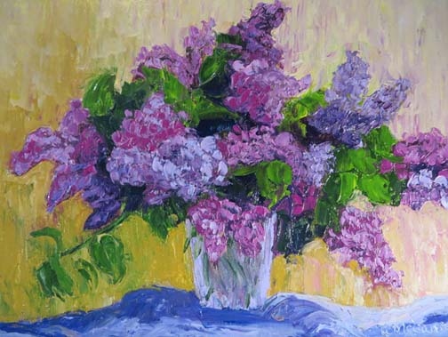 Lilac Bouquet (c)Ann McCann 2016