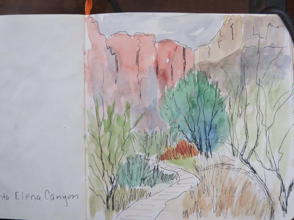 """""""Santa Elena Canyon"""" by Ann McCann (c)2017"""