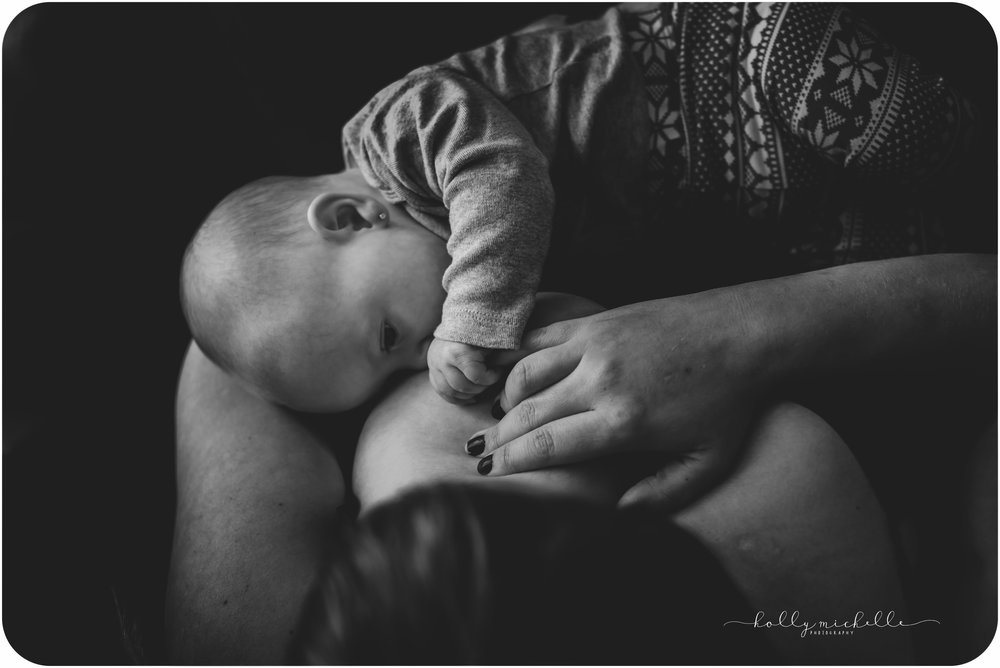 Manitoba birth photographer nourishment session