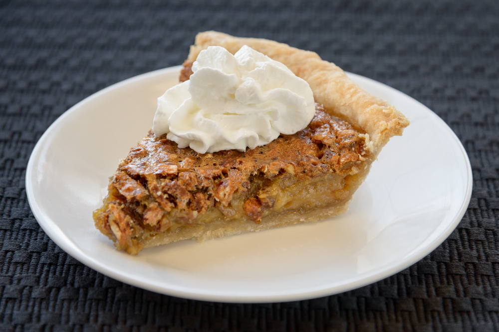Pecan Pie - fresh, creamy and oh, so delicious! A slice of heaven.