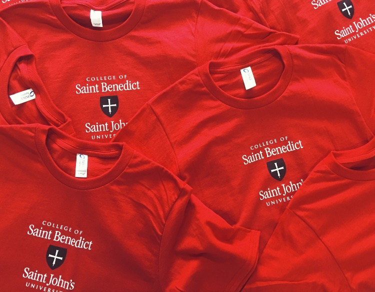 St. Benedict and St. John t-shirts