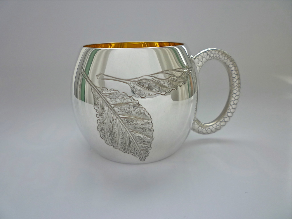 Christening cup: Private Collection