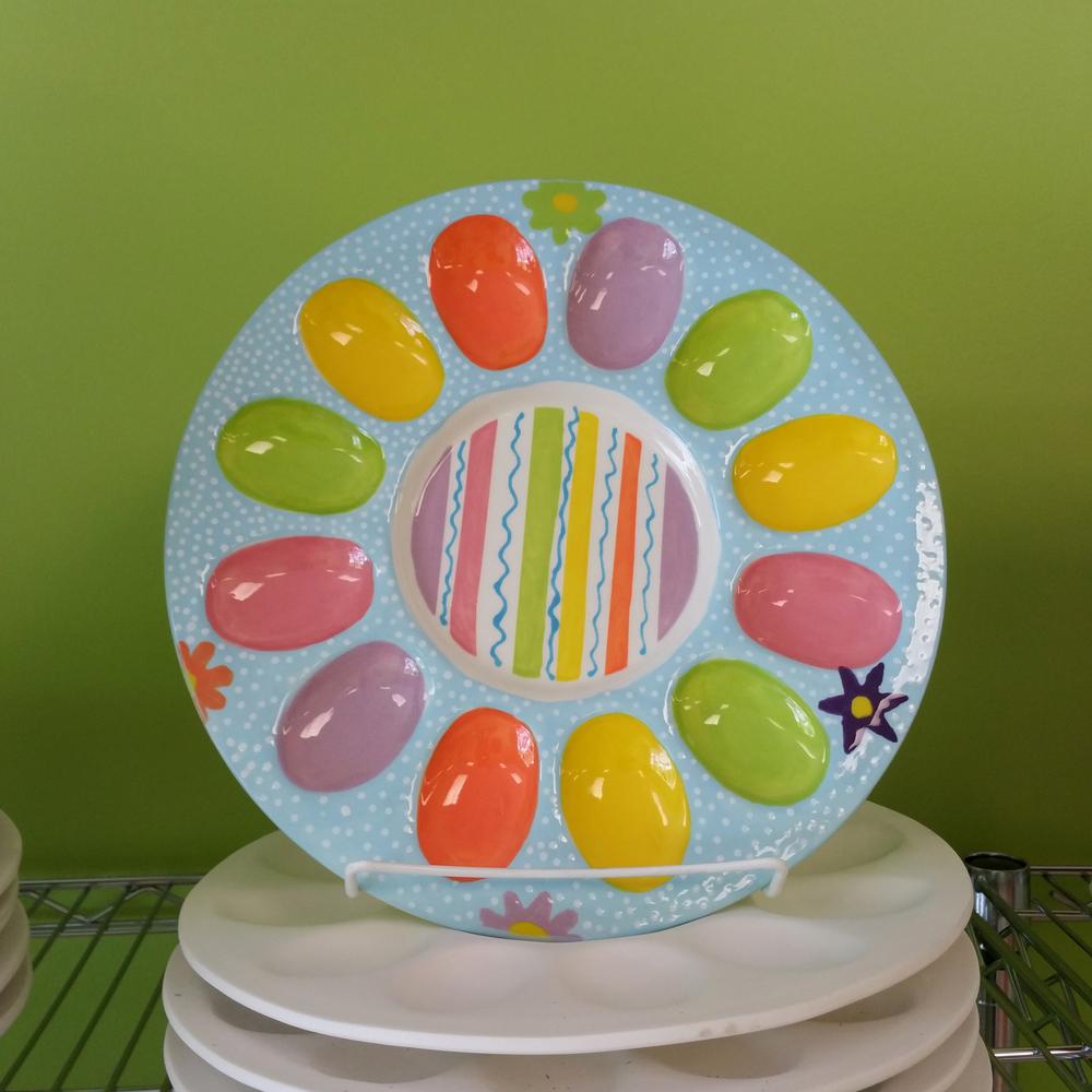 Devilled Egg Plate