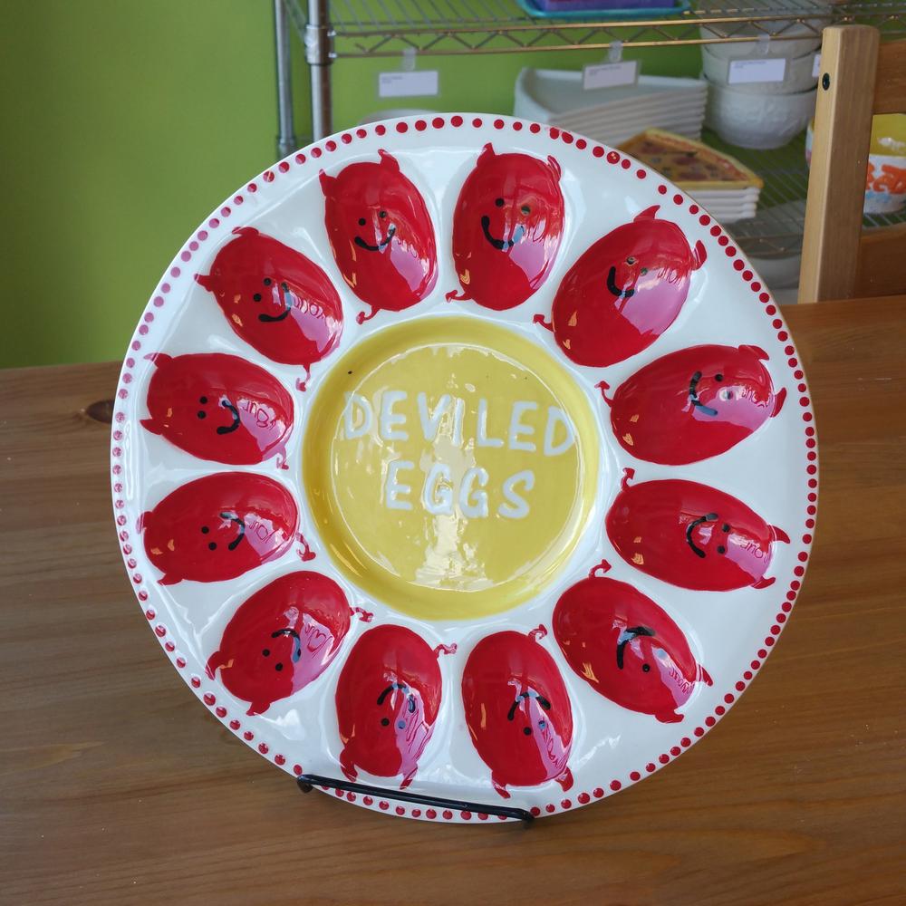 """Devilled"" Eggs"