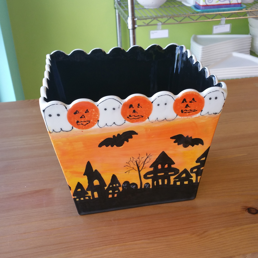 Halloween Popcorn Bowl