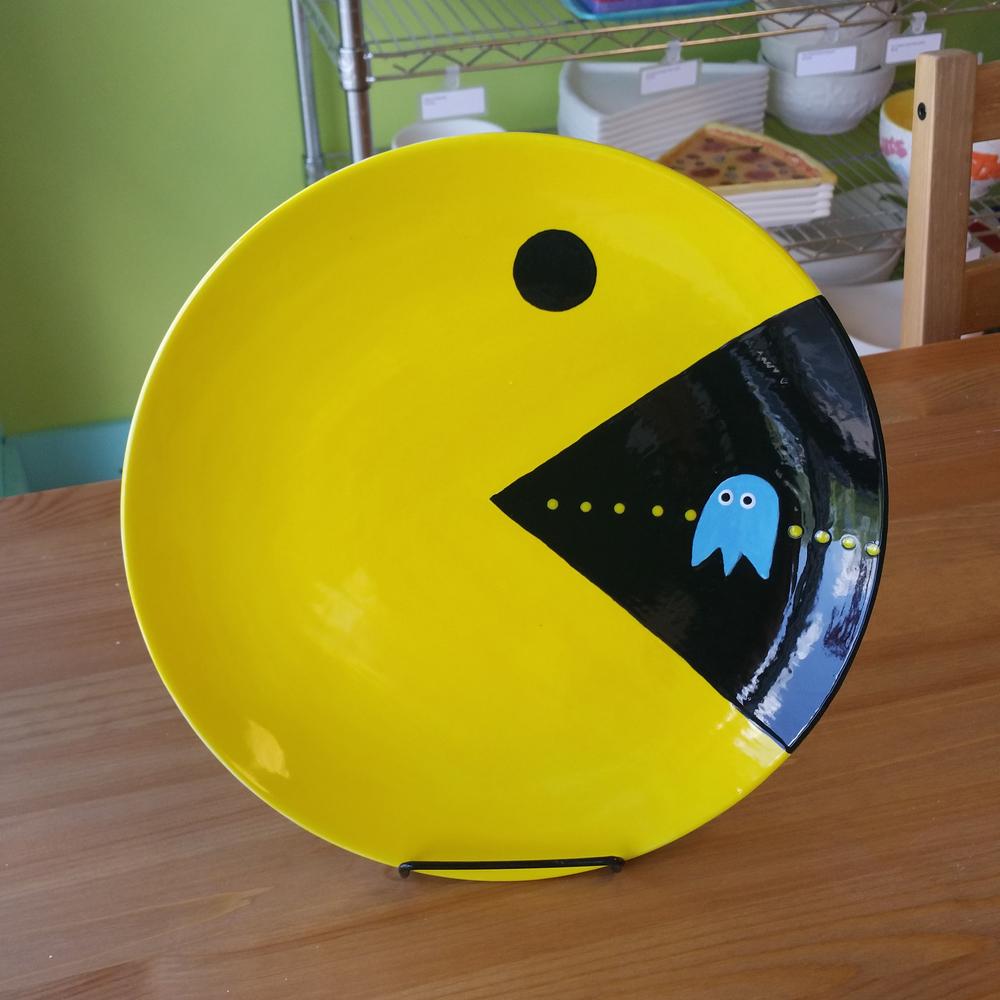 Pacman Plate