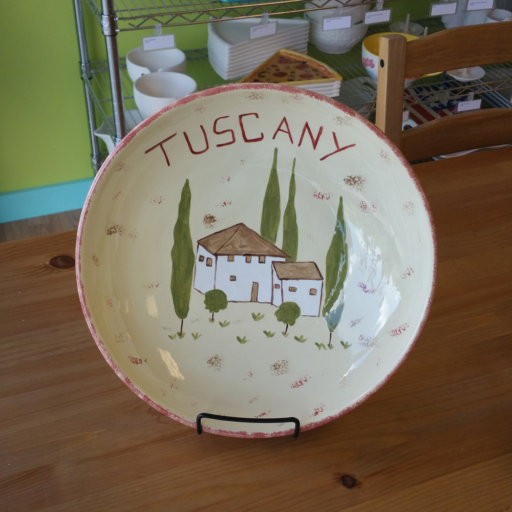 Tuscany Serving Plate