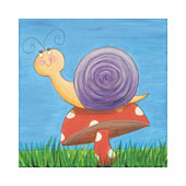 Snail Canvas Painting Option.