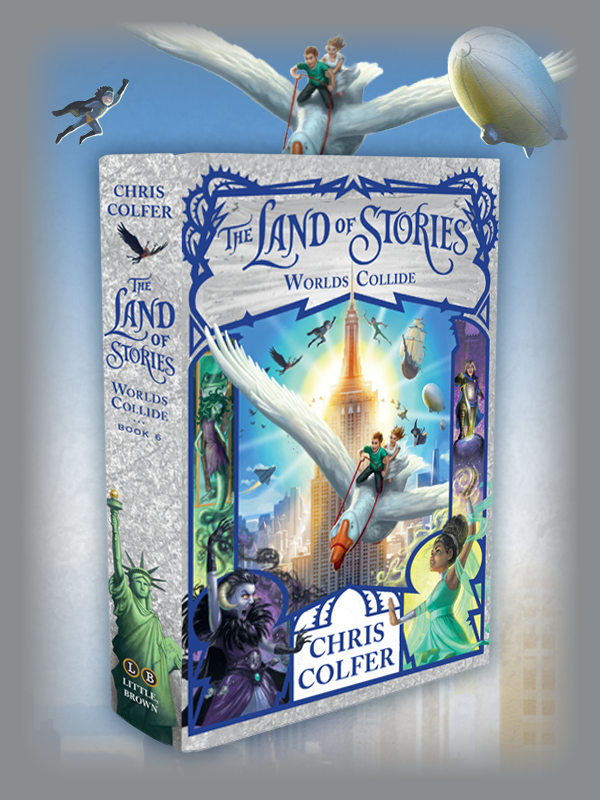 The Series THE LAND OF STORIES
