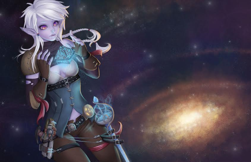 Otherworlds Tabletop Roleplaying Game Science Fantasy Updates Character Creation - Itera