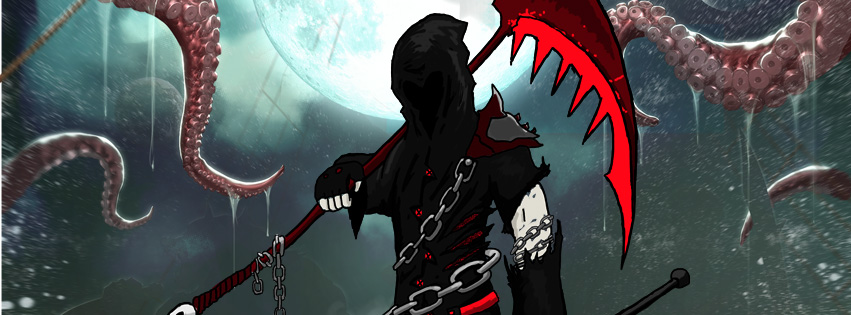 Otherworlds Tabletop RPG Avryn Reaper - Soul Eater