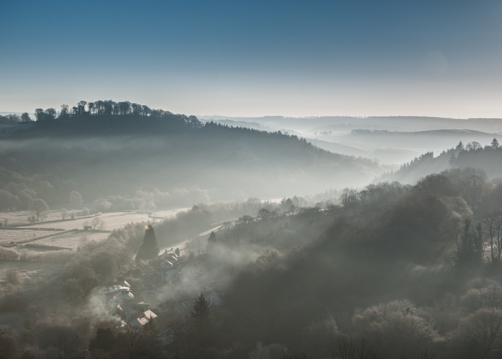Frosty morning, Somerset