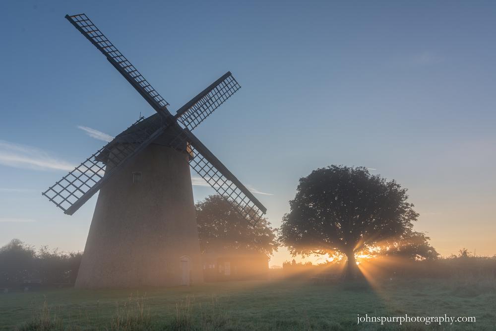 Sunrise at Bembridge Windmill, Isle of Wight