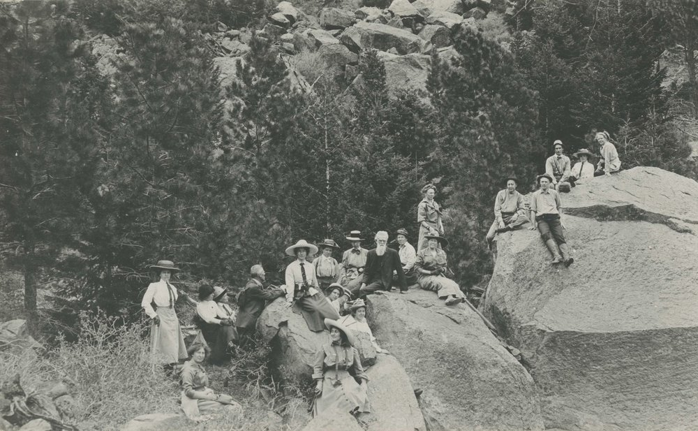 First Trip to South Boulder Peak, May 30, 1912