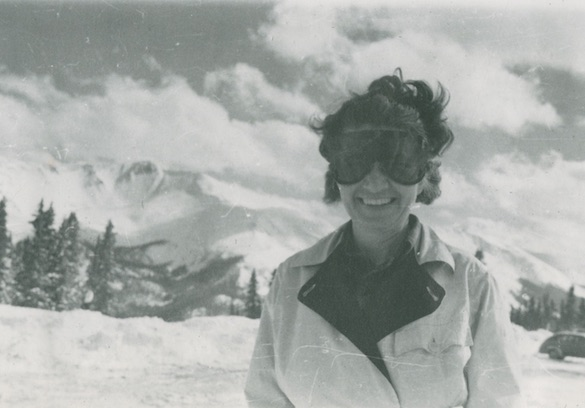 Lou ? at Berthoud, 1942