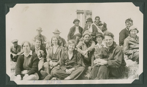 Pikes Peak Group Outing, 1932