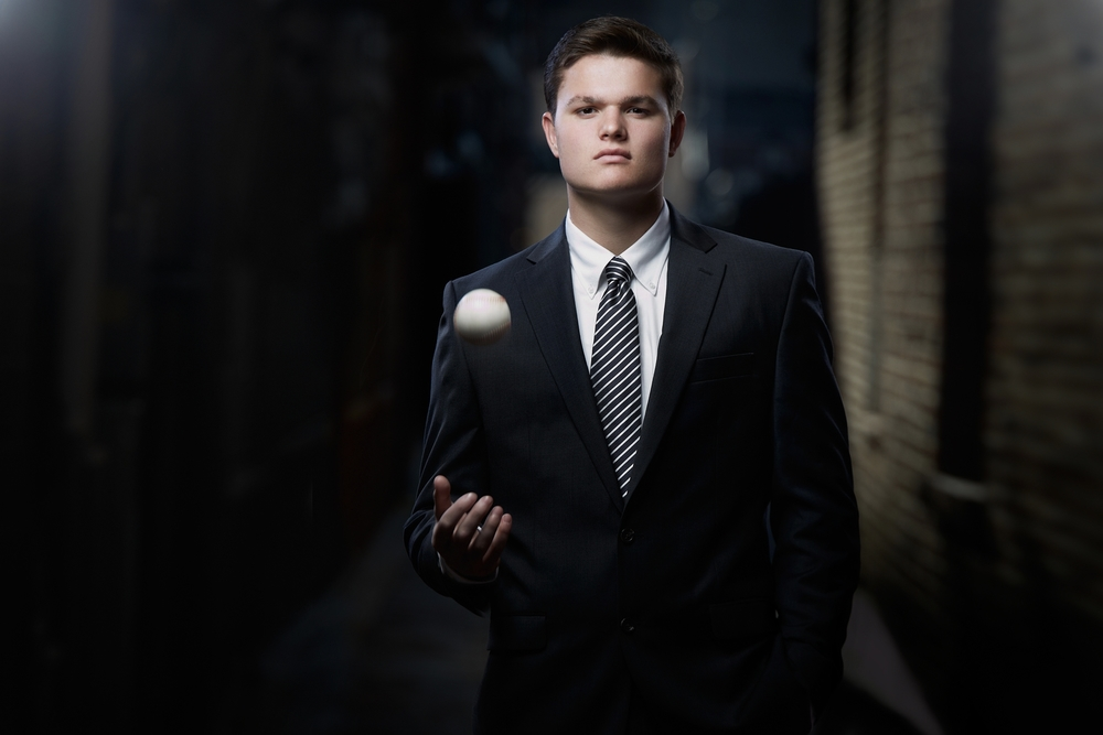 Davis Sims 1 - St Mary High School - Senior Portrait Photography - Paducah Kentucky - Photographer Brad Rankin Studio