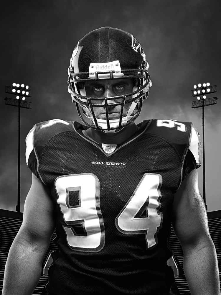 Josh Mallard 1- Atlanta Falcons - NFL - Brad Rankin Studio - Photographer Brad Rankin - Paducah Kentucky