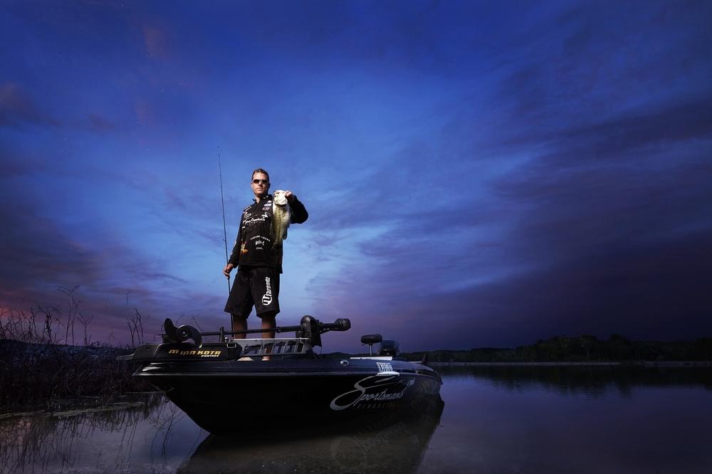 Troy Hollowell - Professional Fisherman - Brad Rankin Studio - Photographer Brad Rankin - Paducah Kentucky