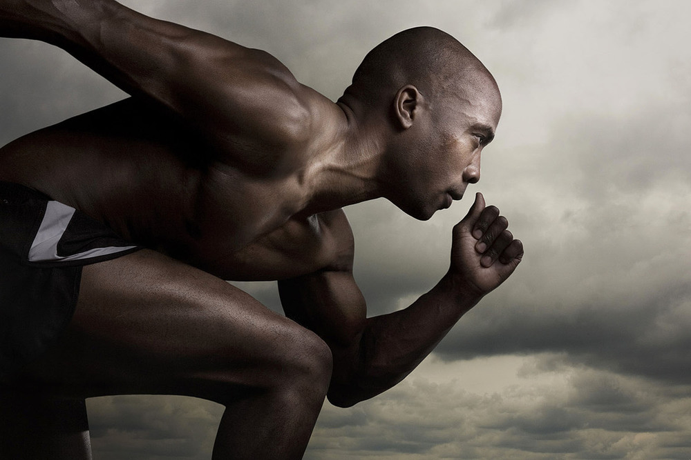 Running Athlete 2 - Portrait Photography - Brad Rankin Studio - Photographer Brad Rankin - Paducah Kentucky