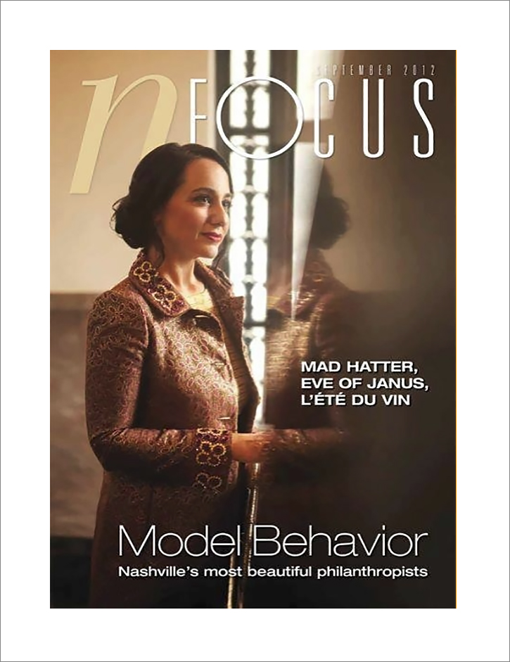 NFocus Magazine Cover - Nashville Tennessee - Photographer Brad