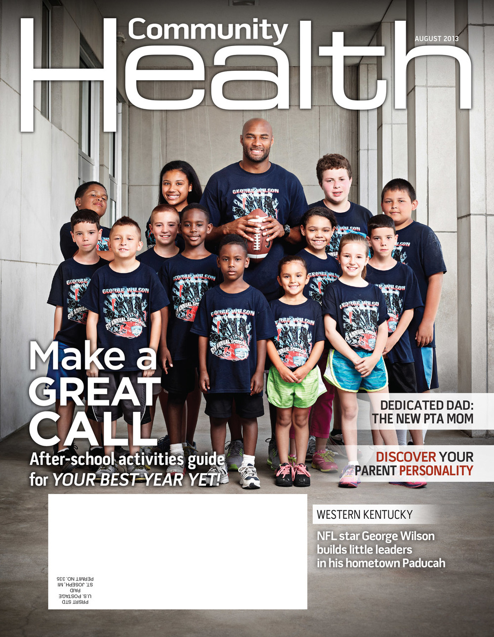 Community Health Magazine - George Wilson - Tennessee Titans - P
