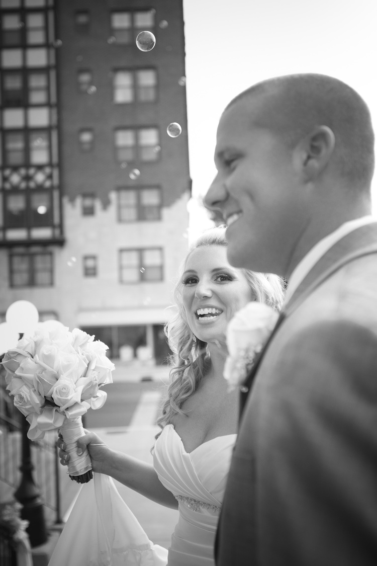 Katie Arnzen & Troy Hollowell Wedding St Francis de sales - Padu