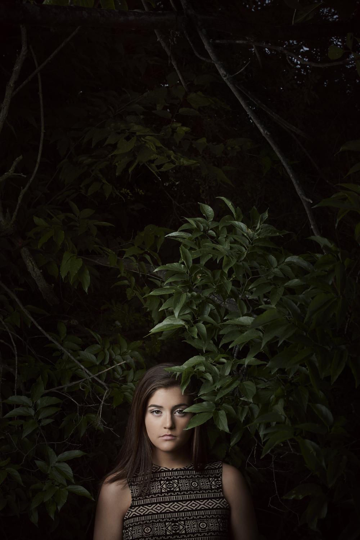 Peggy Harben - Paducah Tilghman - Senior Portrait - Class of 2016 - Brad Rankin Studio
