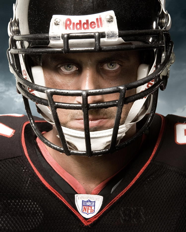 Josh Mallard 2 - Atlanta Falcons - NFL - Brad Rankin Studio - Photographer Brad Rankin - Paducah Kentucky