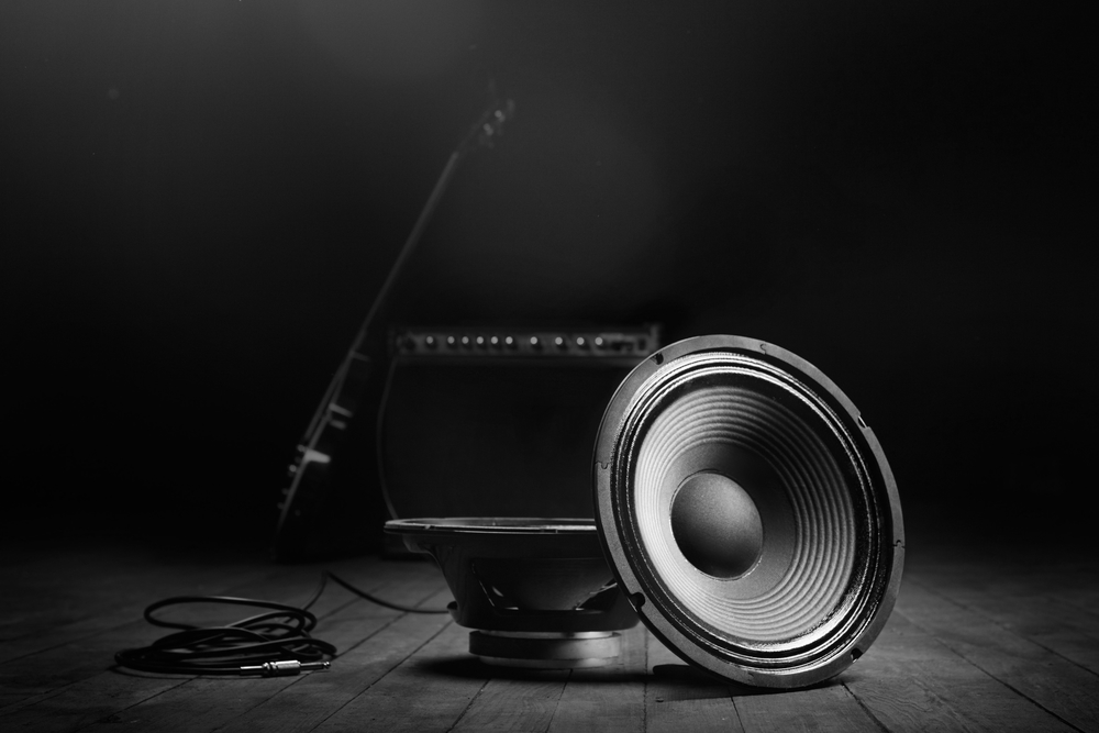 Warehouse Guitar Speakers - Product Photography - Brad Rankin Studio