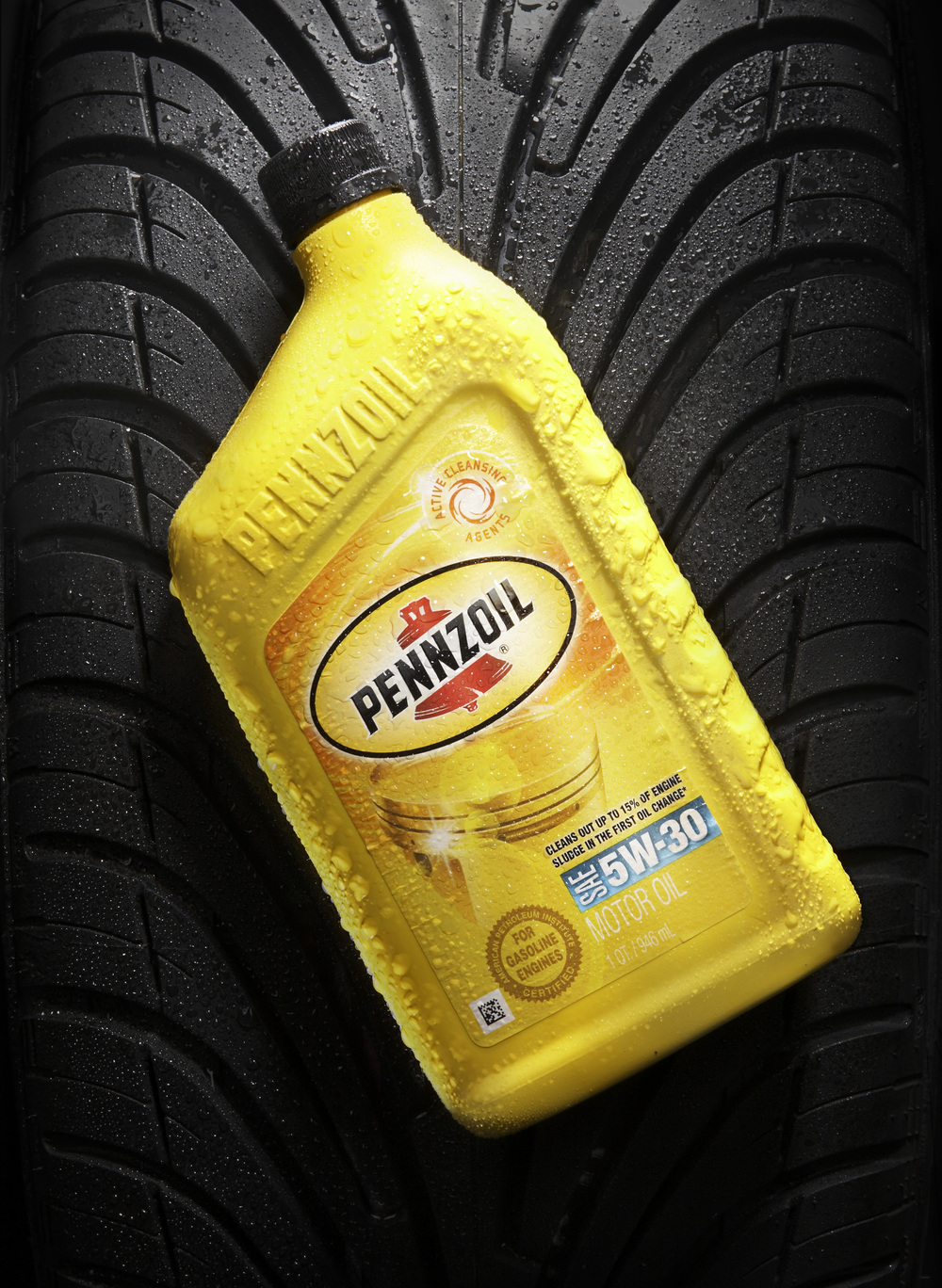 Pennzoil Product Photograph - Brad Rankin Studio