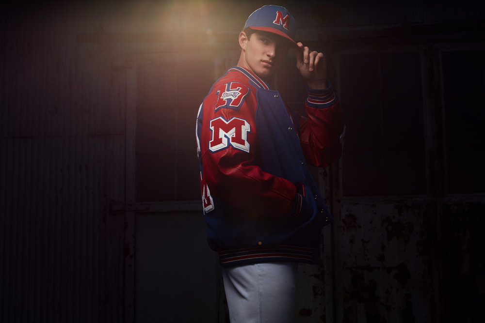 Noah Farmer - Massac Co High School - Senior Portrait - Brad Ran