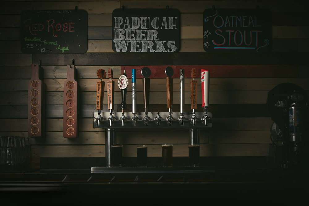 Photo 4: Photograph of one the taps at Paducah Beer Werks.