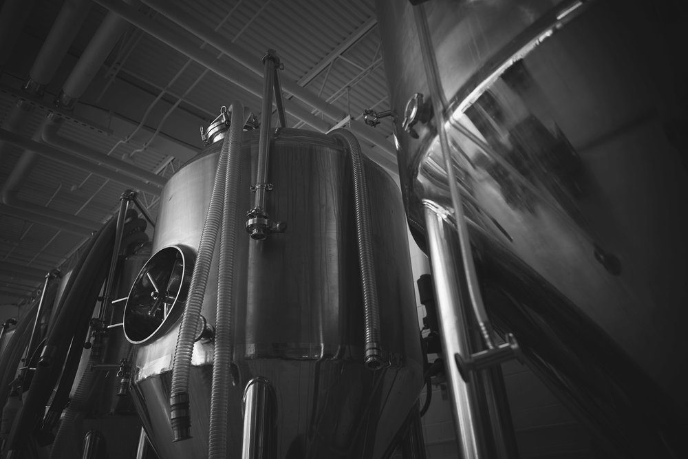 Photo 1: Photograph of brewing stills at Paducah Beer Werks in Paducah, Ky.