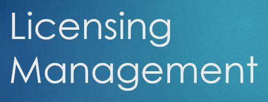 Licensing Management