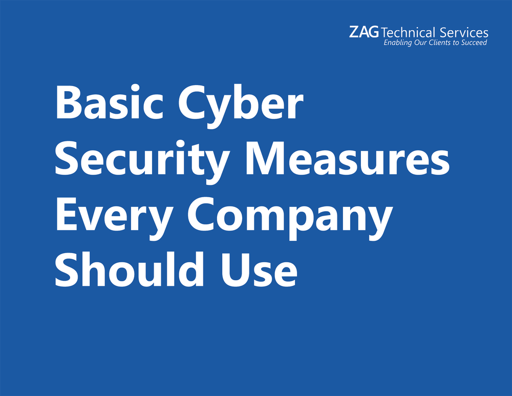 Basic Cyber Security Measures Every Company Should Use