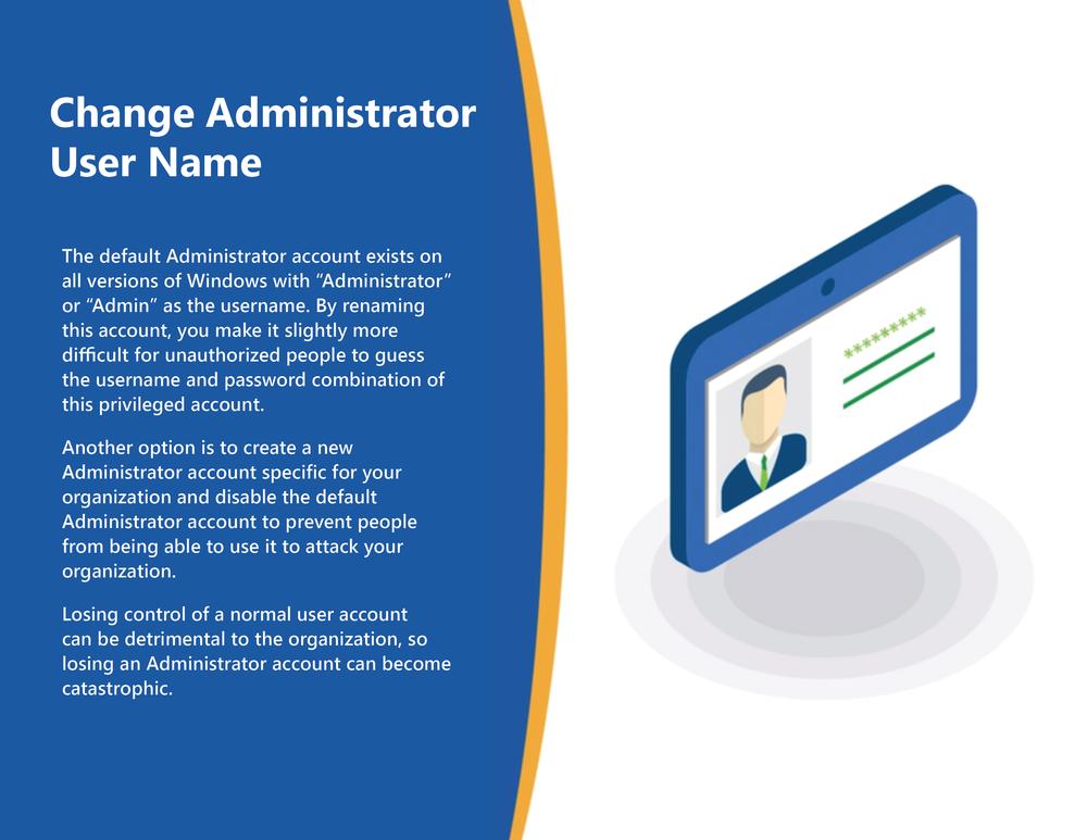 Change Administrator User Name
