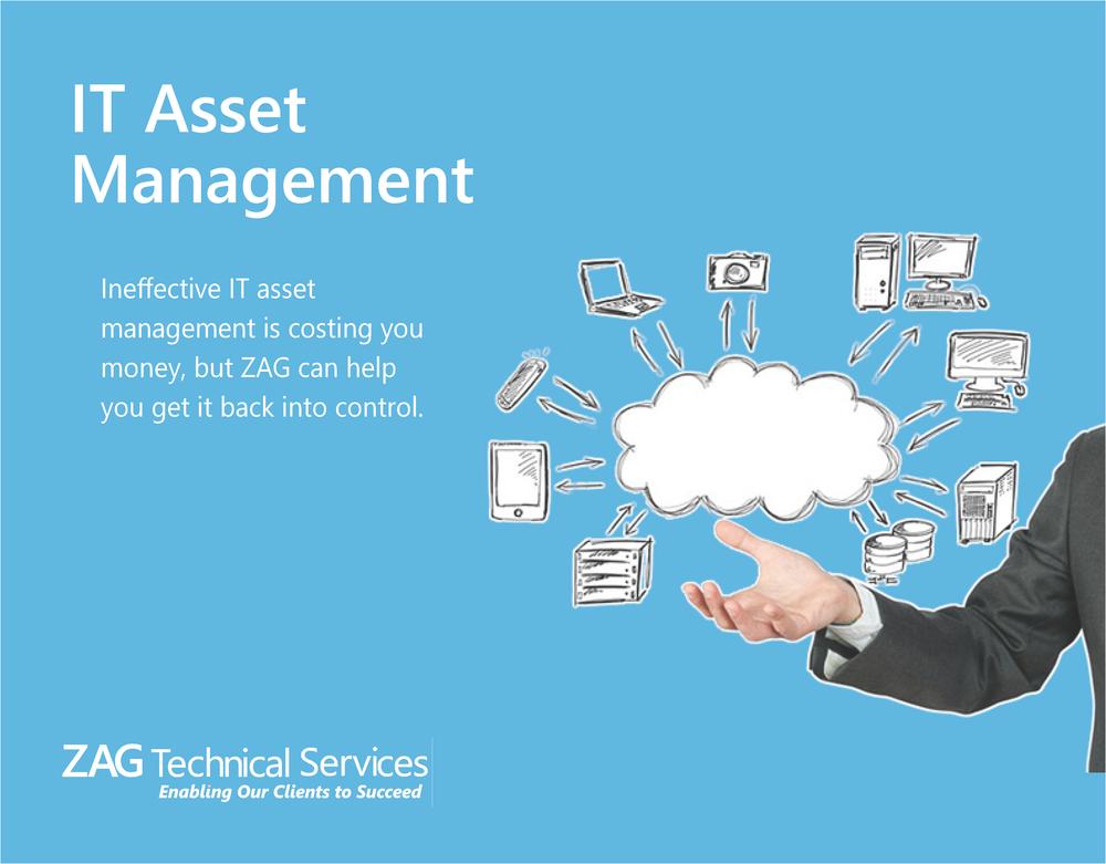 IT asset management improves ROI.