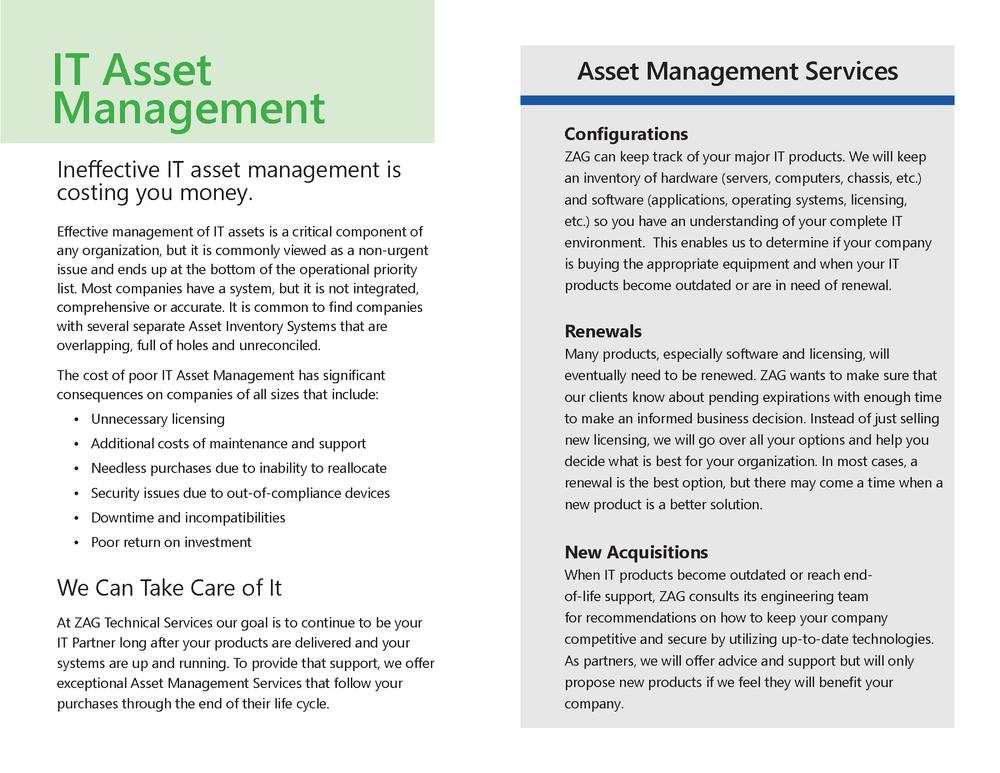 ZAG Asset Management Services
