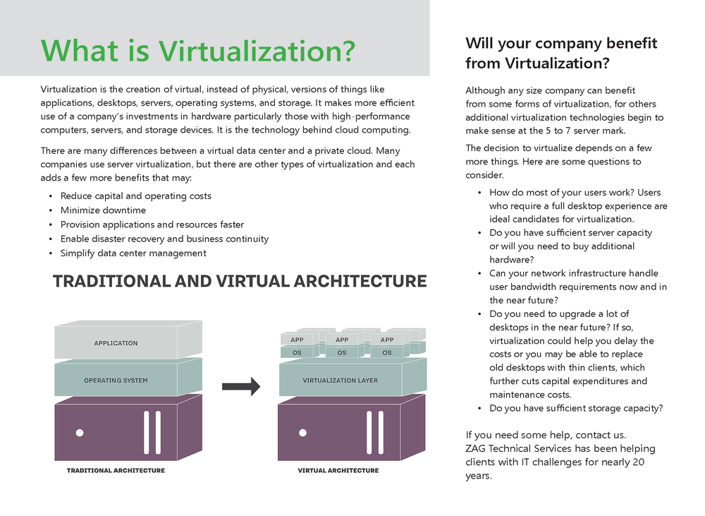 Traditional or virtual network architecture
