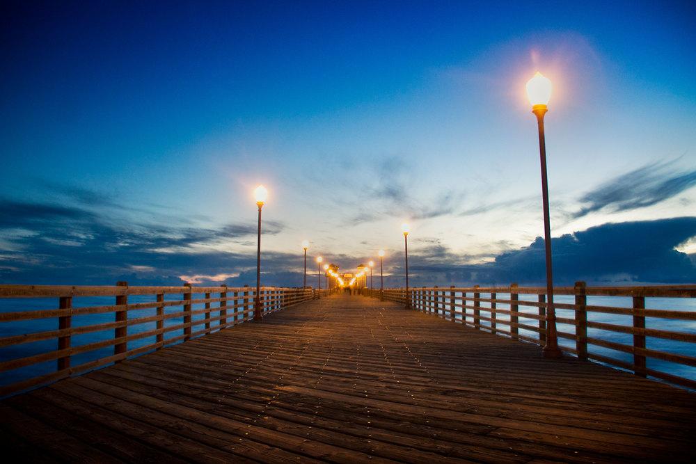 Oceanside Pier III - Long Exposure
