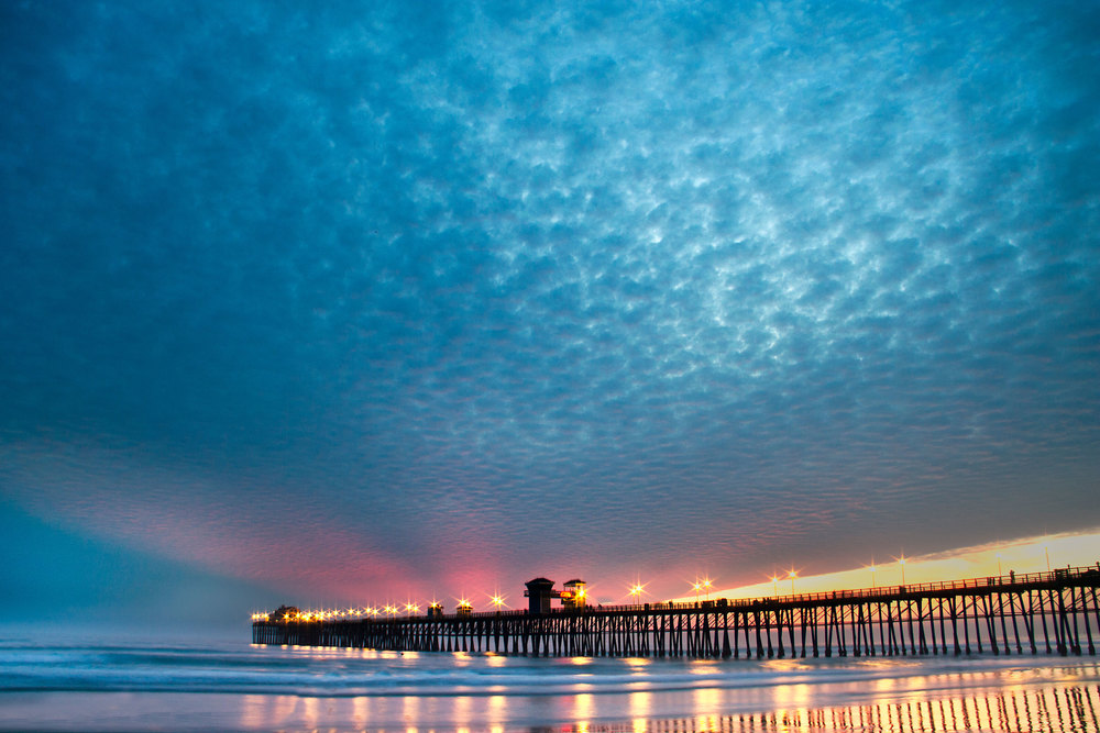 Oceanside Pier IV - Long Exposure