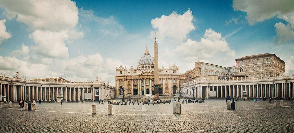 St. Peter's Square - Panoramic